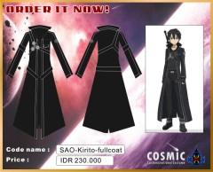 Kirito coat 230.000