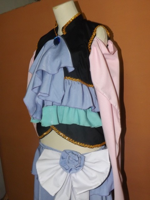 Jual Costum cosplay Vocaloid Gumi ver Sandplay Singing of the Dragon 02