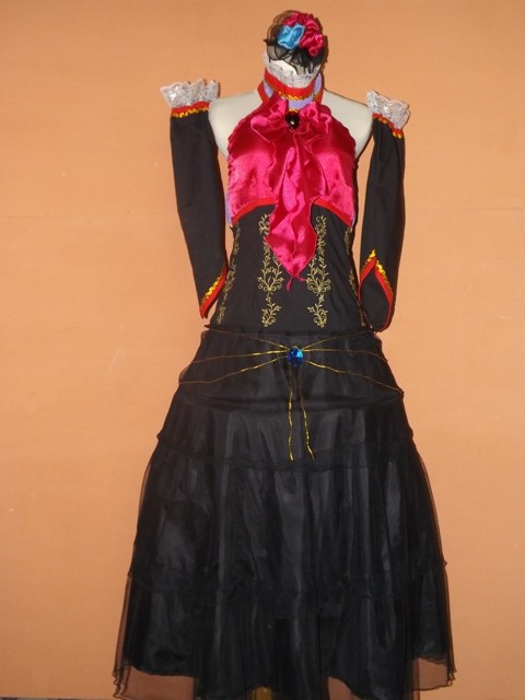Jual Costum cosplay Vocaloid Megurine Luka ver Sandplay Singing of the Dragon 01